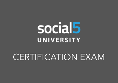 CERTIFICATION: Social Media Strategist: Level 1