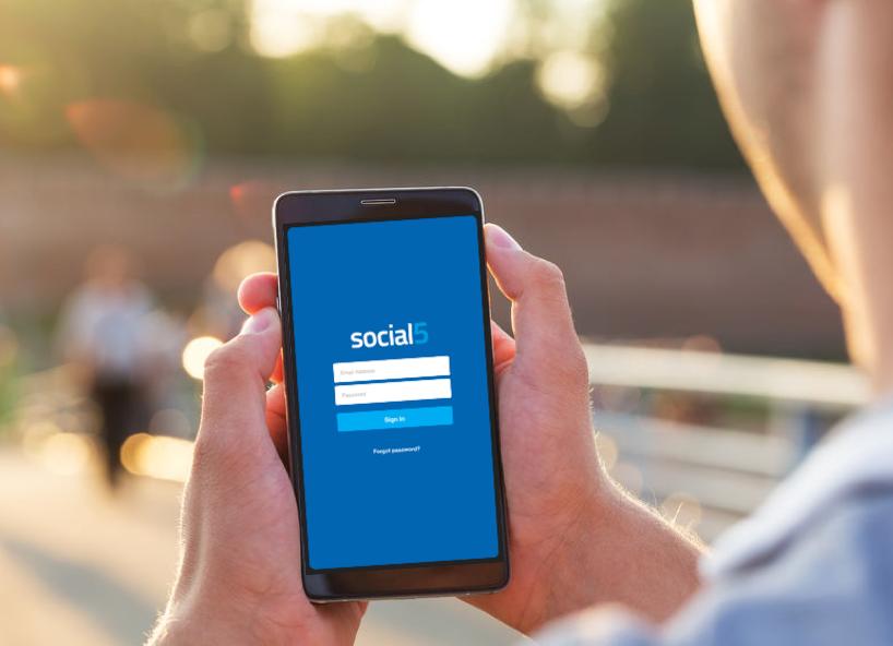 The Social5 App